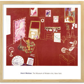 Henri Matisse - The Red Studio (Natural Frame)