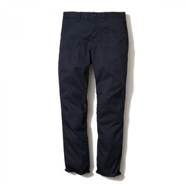 HEAD PORTER PLUS - COTTON TROUSERS NAVY
