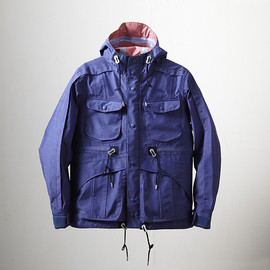 White Mountaineering, EYESCREAM.JP - T/C Chambray GORE-TEX Mountain Parka