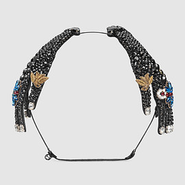 GUCCI - Hairband in metal with crystals