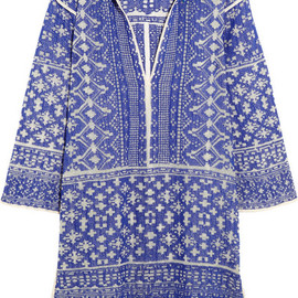 Isabel Marant Étoile -  Bloom woven cotton-blend mini dress