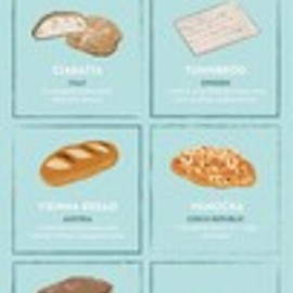 The 37 Most Iconic Breads in the World by Baltic Travel Company - The 37 Most Iconic Breads in the World #infographic