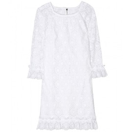 DOLCE&GABBANA - BRODERIE ANGLAISE DRESS