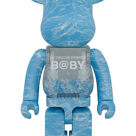 MEDICOM TOY - MY FIRST BE@RBRICK B@BY WATER CREST Ver.1000%