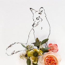 Fox and Flower No.9889