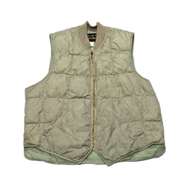 Eddie Bauer - Vintage 1980s Eddie Bauer Blizzard Proof Down Vest Made in USA Mens Size Medium