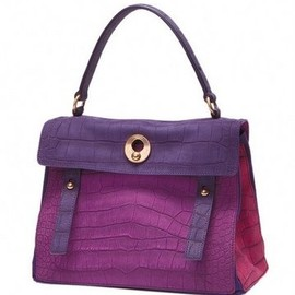 YVES SAINT-LAURENT - Purple bag