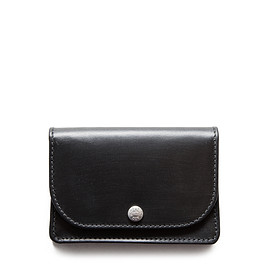 WHITEHOUSE COX - ホワイトハウスコックス S1751 NAME CARD CASE / BRIDLE (BLACK)
