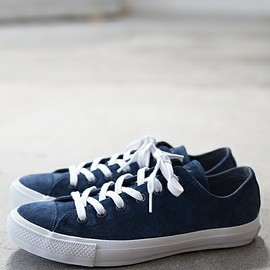 CONVERSE - CONVERSE: SHIPS別注 SUEDE ALL STAR OX NAVY