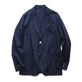 uniform experiment - COOLMAX® JERSEY 3 BUTTON UNCON JACKET