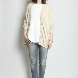 MAISON MARTIN MARGIELA - Knitted Cotton Cardigan