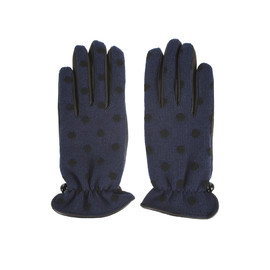 MARC JACOBS - Woolen polka dot knit gloves