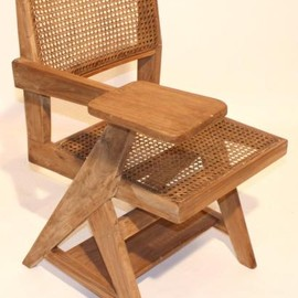 Pierre Jeanneret - Teck Wood Class Room Chair, Chandigarh, India