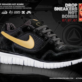NIKE SB - Free Rod 5.0 - Black/Metallic Gold