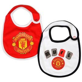 MANCHESTER UNITED - BABY BIBS