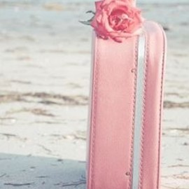 Oh to have a cute suitcase like this! :)