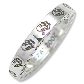 CHROME HEARTS-クロムハーツ - spacer ring 3mm rolling stones