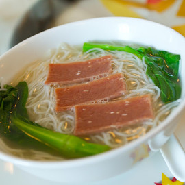 Hong Kong China Club - Noodles in Clear Broth served with Shanghainese Ham