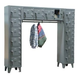 Strong Hold - Free-Standing Compartment Locker
