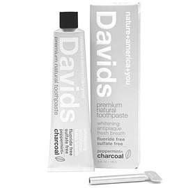 Davids - Natural Charcoal Toothpaste