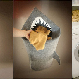 Uczarczyk - SHARK TEETH LAUNDRY HAMPER