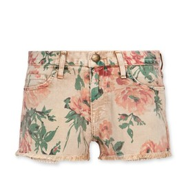 Current Elliott - The boyfriend short printed floral