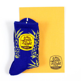 MY LOADS ARE LIGHT - My Loads Are Light for Delicious Pineapple Socks<img class='new_mark_img2' src='http://shop.dlcs.jp/img/new/icons5.gif' style='border:none;display:inline;margin:0px;padding:0px;width:auto;' />の画像