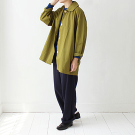 Gallego Desportes - Cotton Half Coat / Green