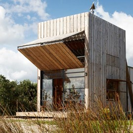 Crosson Clarke Carnachan Architects - Hut on Sleds, New Zealand