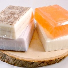 Luulla - Soap, Marula Oil Soap Sampler, 4 Bars