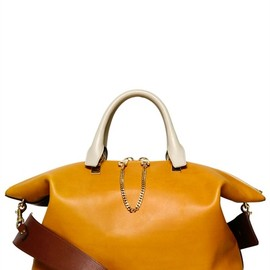 CHLOE' - MEDIUM BAYLEE TWO FACE LEATHER BAG