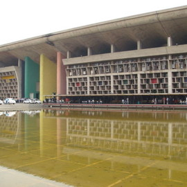 Le Corbusier - Chandigarh Buildings, Chandigarh, India