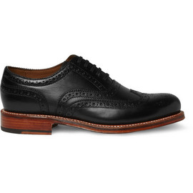 Grenson - Angus Leather Wingtip Brogues