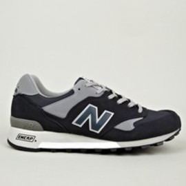 New Balance - Men's Navy M577NG Made in England Sneakers