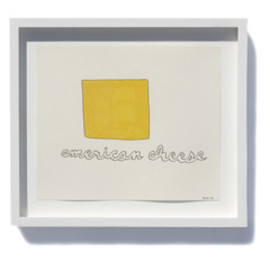 "Stephen Floyd - Drawing ""american cheese"""