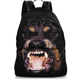 GIVENCHY - Exploded Rottweiler-print nylon backpack