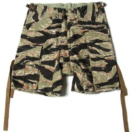 GANRYU - tiger camo short pants