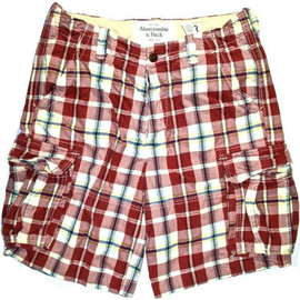 Abercrombie & Fitch - ON SALE NOW 50% OFF Vintage Abercrombie & Fitch Plaid Shorts Mens Size 33