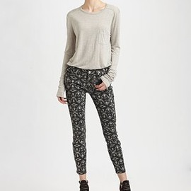 MARC BY MARC JACOBS - Lola Cropped Skinny Jeans
