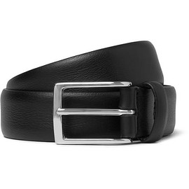Anderson's - 3cm Black Leather Belt