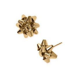 kate spade NEW YORK - gift bow earrings