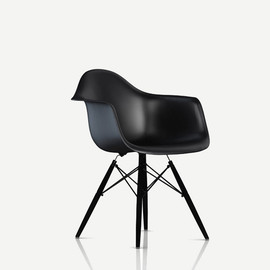 Herman Miller - DAW BK EN ZA / DAW SHELL CHAIR BLACK/EN-BASE