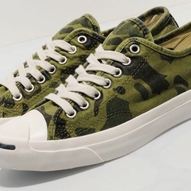 """Converse Jack Purcell Ox """"Camo"""""""