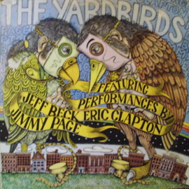 THE YARDBIRDS - FEATURING PERFORMANCES BY JEFF BECK ERIC CLAPTON JIMMY PAGE