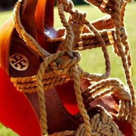 TORY BURCH - ♥rope sandal✤