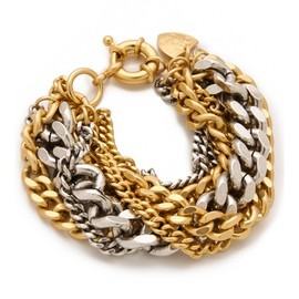 Giles & Brother - Large Multi Chain Bracelet