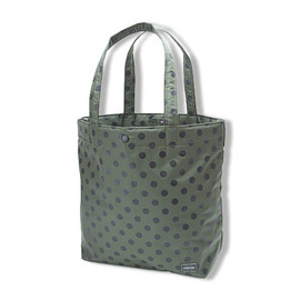 HEAD PORTER - SHOPPING BAG (L)|POLKA DOT