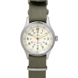 Timex x JCrew - Vintage Army Steel Watch