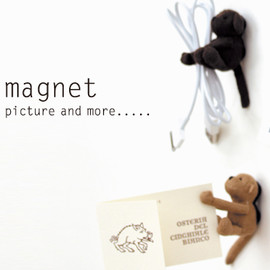 MIDORI - animal magnet holds key, memo, picture and more.....