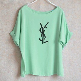 YVES SAINT-LAURENT - green.T